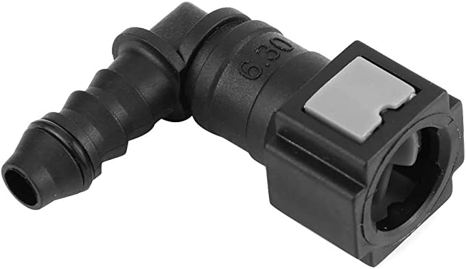 Fuel Line Quick Release Connect Connector ID6 Male 6.30mm Straight Motorcycle Car Hose Coupler Durable Flexible Sturdy Nylon Line Quick Release Connect Connector for Motorcycle Car Linking Fuel Lines