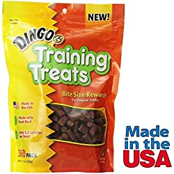 Dingo Dog Training Treats for Obedience Behavior Training Real Beef Made in USA
