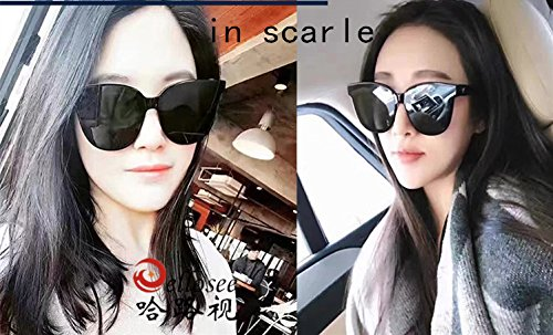354be9f7dfa5 Lunettes de Soleil Polarisées Wayfarer New Gentle man or Women Monster  eyeware V brand IN SCARLET sunglasses for Gentle monster sunglasses -black  frame ...