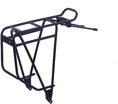 CYzpf Bicicleta Portaequipajes Montaña Trasero Carrier Aleación de Aluminio Bici Portador Estante Bike Accesorios Soporte: Amazon.es: Deportes y aire libre