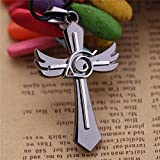 TKHNE Anime Kiba Cross symbol jewelry necklace pendant personalized jewelry men young students