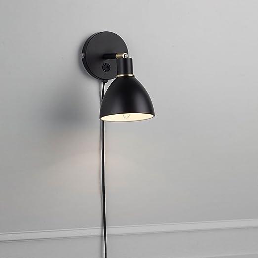 wholesale dealer 6463c 762f2 Nordlux Ray Wall Light Black Modern Adjustable Spot Light ...
