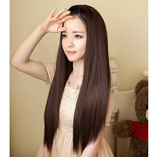 Amazon Com Woman With Long Straight Hair Wig Liu Qi Korean Girls