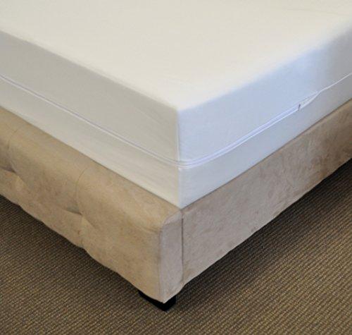 Flex Form Waterproof Mattress Encasement: Premium Zippered Bed Bug Protector, Twin