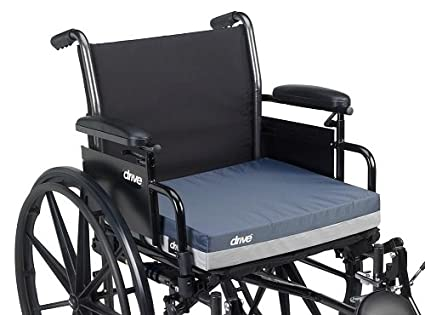 Amazon.com: 14886 - Gel E Skin Protection Wheelchair Seat Cushion, 18 x 16 x 3: Health & Personal Care