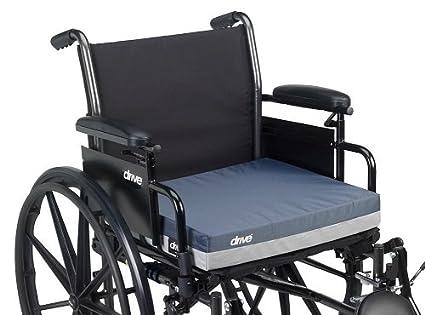 14886 - Gel E Skin Protection Wheelchair Seat Cushion, 18 x 16 x 3