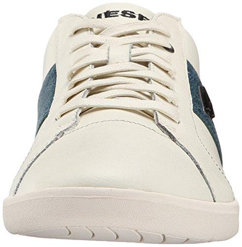 Diesel Mens Gotcha Fashion Sneaker White/Dark Green yuaZnibm1
