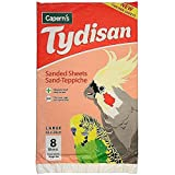 Tydisan Sheets, Large, Pack of 8, Red