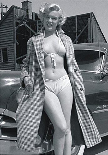 Marilyn Monroe Movie Star - Marilyn Monroe, Movie Star, Car, Actress, Souvenir Magnet 2 x 3 Photo Fridge Magnet