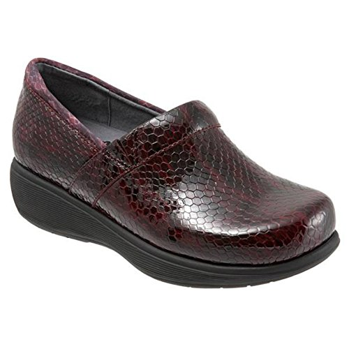 Donne Softwalk Meredith Vino Zoccolo Serpente