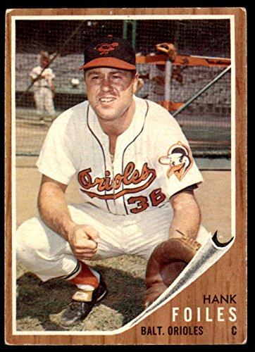 (1962 Topps #112 Hank Foiles G-VG Orioles)