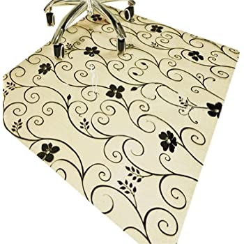 Amazon Com Pvc Office Chair Mat Flowering Branch Carpet