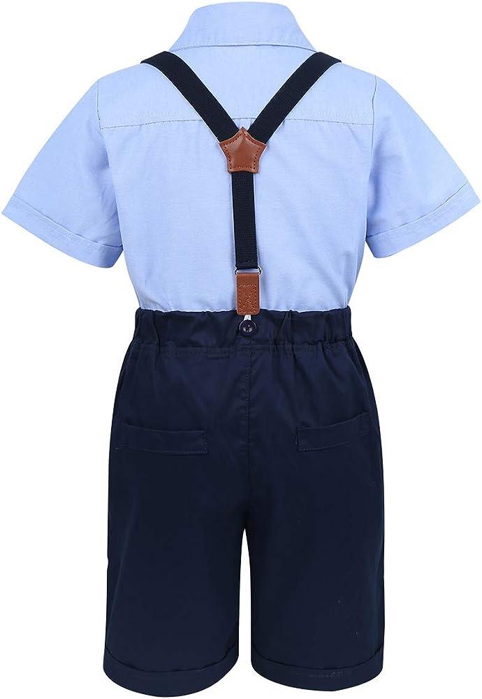 Alvivi Ropa Bebés Niños Traje Cumpleaños Camiseta Tops Caballero ...