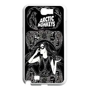 Unique Phone Case Design 16Famous Band Arctic Monkeys Pattern- For Samsung Galaxy Note 2 Case
