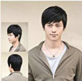Fashion Men's Short Layered Wig (Model: Jf010471) (Black) by Cool2day