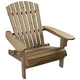 Woodside Adirondack Chair Outdoor Wooden Garden Patio Furniture
