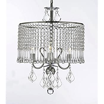 Contemporary 3-light Crystal Chandelier Chandeliers Lighting With ...