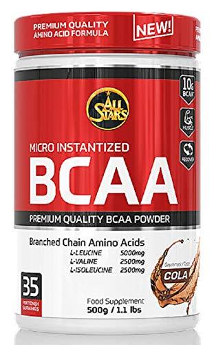 All Stars BCAA Powder, Cola, 1er Pack (1 x 500 g)