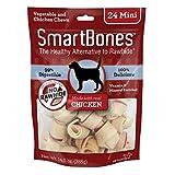 SmartBones Chicken Dog Chew, Mini, 24-Count