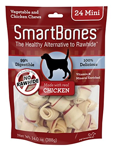 - SmartBones Mini Chicken Chews (24 Pack)