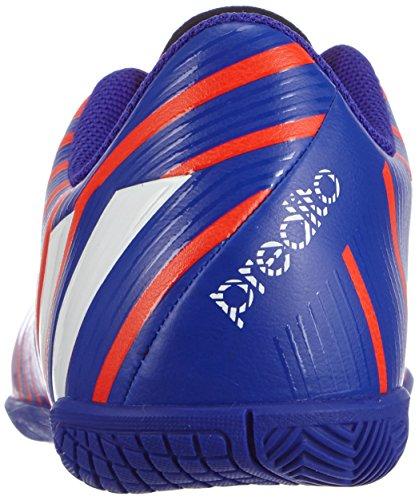 adidas Predito Instinct Indoor Jungen Fußballschuhe Mehrfarbig (Solar Red/FTWR White/Night Flash S15)