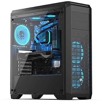 Sedatech PC Gaming Advanced Intel i5-9400F 6X 2.9Ghz, Geforce GTX 1050Ti 4Gb, 8 GB RAM DDR4, 240Gb SSD, 1Tb HDD, WiFi, CardReader. Ordenador de ...