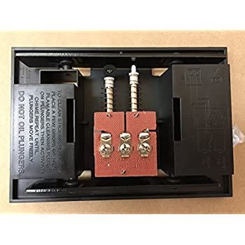 nutone broan door bell chime mechanism assembly fits most chime rh amazon com Doorbell Wiring Diagram DC Doorbell Transformer Wiring Diagram
