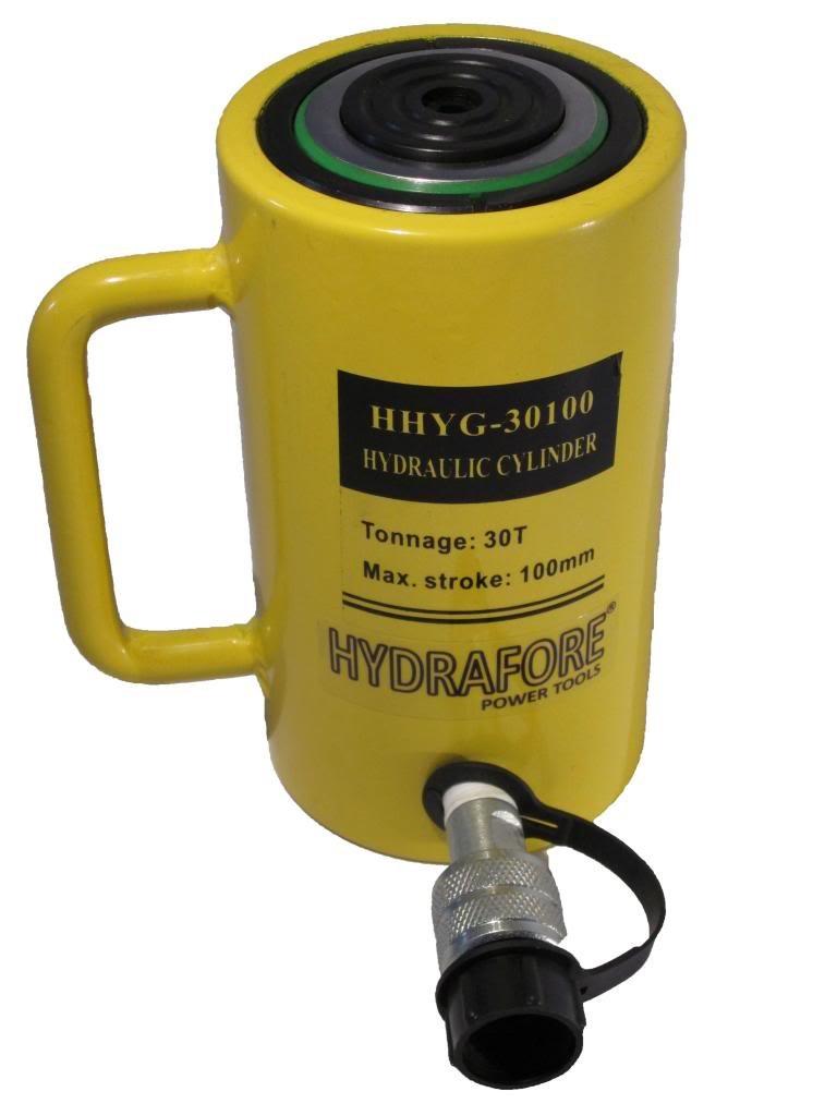 hydrafore einzelwirkender Roue hydraulique (30 ton 100 mm)