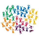 100 Funny Monkey Tiny Plastic Monkey Figures Party Favors