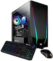 iBUYPOWER Gaming PC Computer Desktop Trace 4 9310 (AMD Ryzen 5 3600 3.6GHz, AMD Radeon RX 5500 XT 4GB, 8GB DDR