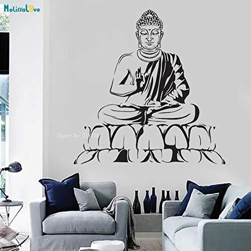 Buda Yoga Tatuajes de vinilo de Pared Meditación Relajación ...