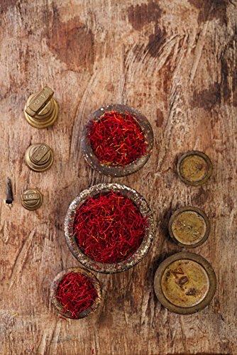 Azafran Saffron Threads,100% Pure Premium Saffron Quality Stigmas (5 Gram Spanish) [SUPER NEGIN] NON-GMO, organically grown by Cyrus Saffron (Image #4)