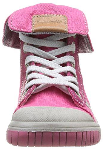 babybotte Artistik2 Mädchen Sneaker Rosa - Rose (2/700/Toile/Fuchsia)
