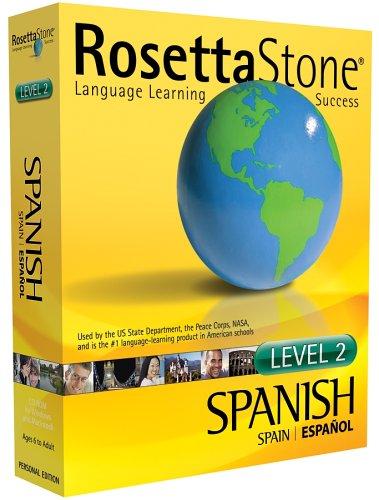 Rosetta Stone V2: Spanish (Spain) Level 2 [OLD VERSION]