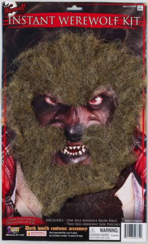 Insta (Werewolf Costume Makeup)