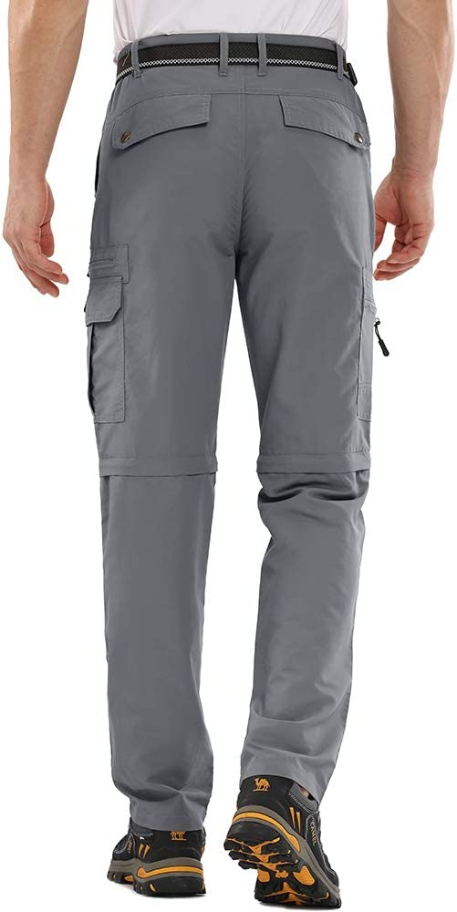 Jessie Kidden camping UPF 50+ pesca ligero carga safari senderismo escalada secado r/ápido Pantalones de senderismo para hombre