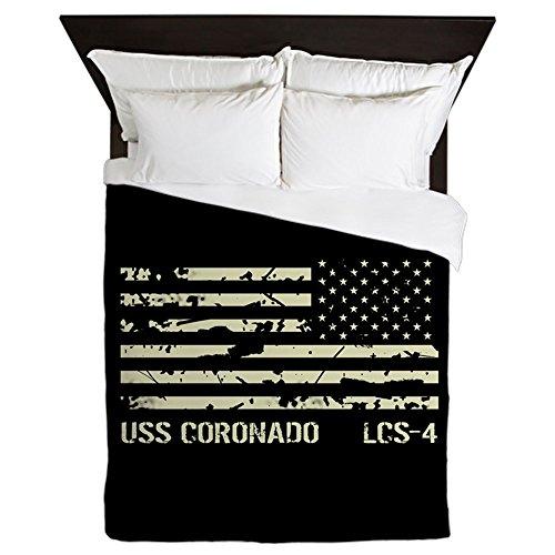 - CafePress USS Coronado Queen Duvet Cover, Printed Comforter Cover, Unique Bedding, Microfiber