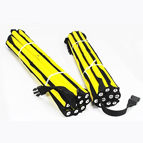 (Two) Agility Ladders Round Roung Team Grade Heavy Duty with Free Carry Bag