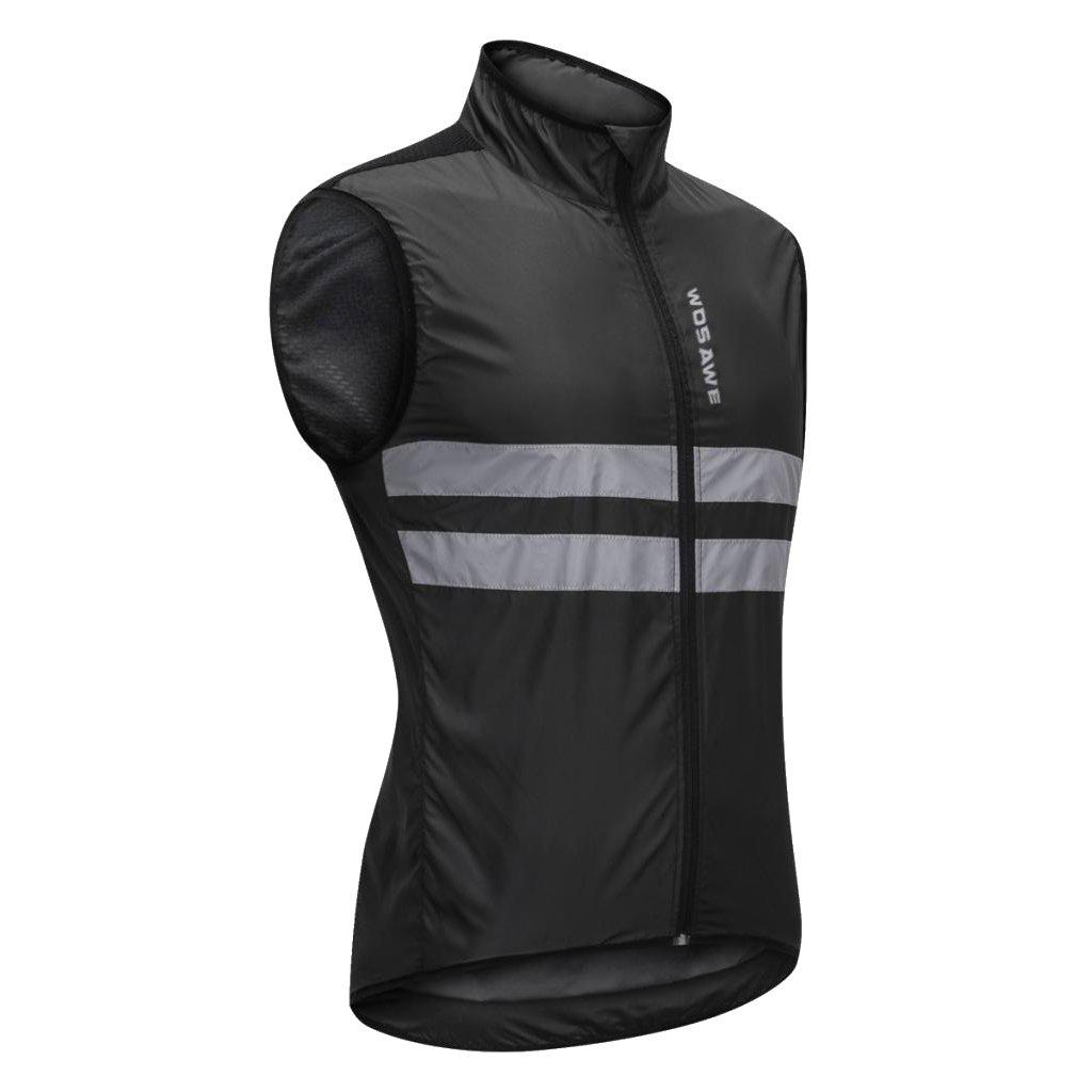 Reflektoren Radfahren Radsport Reiten Weste Radweste//Atmungsaktiv und Winddicht//Wasserabweisend Homyl Reflektierende Fahrradweste//Laufweste