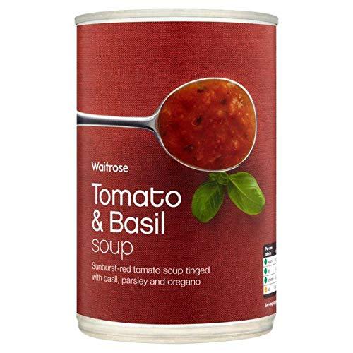 Waitrose Tomato & Basil Soup 400g