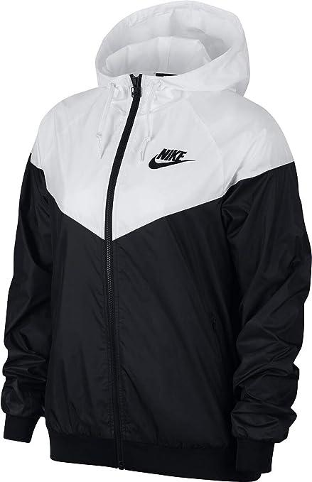 Nike W NSW WR JKT, Veste W NSW WR JKT Femme, Noir (Black ...