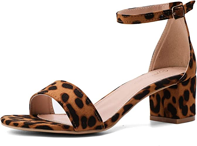 Pump up any look with 60s inspired heels. The chunky