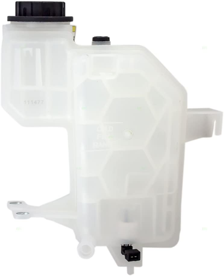Coolant Overflow Recovery Tank Expansion Reservoir Bottle with Cap /& Sensor Replacement for Land Rover SUV LR023080