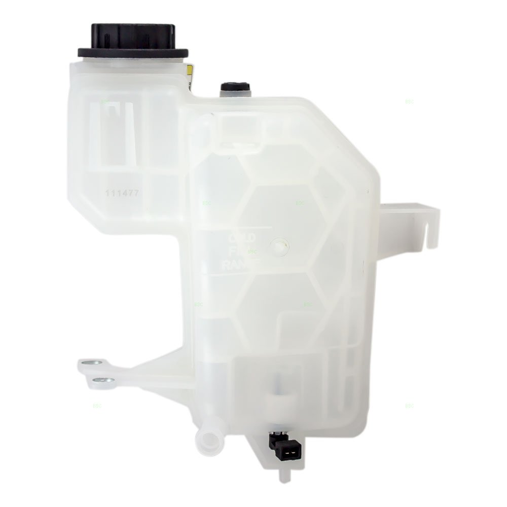Coolant Overflow Recovery Tank Expansion Reservoir Bottle with Cap & Sensor Replacement for Land Rover SUV LR023080