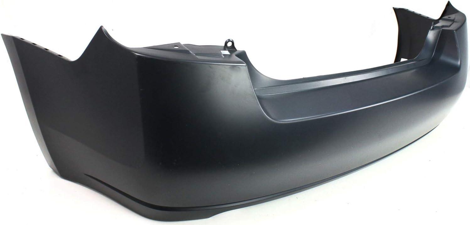 Bumper Cover For 2007-2012 Nissan Sentra Base S SL Models Rear Plastic Primed