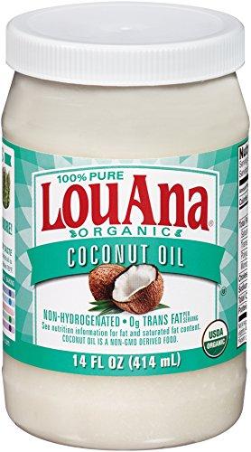 LouAna Organic Refined Coconut Oil, 14 oz