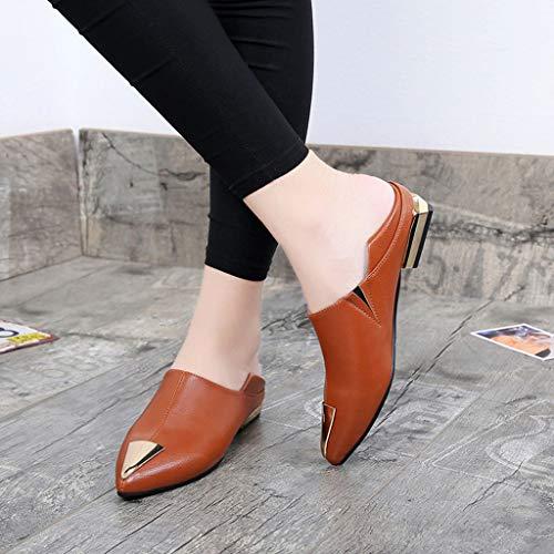 Mocasines Planos para Mujer, Náuticos Zapatos Comodos Plataforma, Zapatillas Adecuado para Oficina y Uso Diario: Amazon.es: Zapatos y complementos