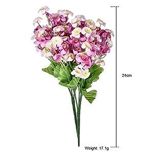 FYYDNZA 2 Bouquet/Set Silk Flower Fake Wind Simulation Artificial Flowers For Diy Wedding Flower Bouquet Home Garden Decoration 71