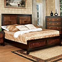 Petra Panel Bed Size: King