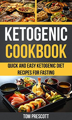 Ketogenic Cookbook Quick Recipes Fasting ebook product image